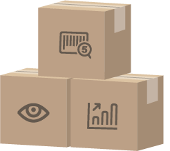 Illustration of boxes representing specialized supply chain applications