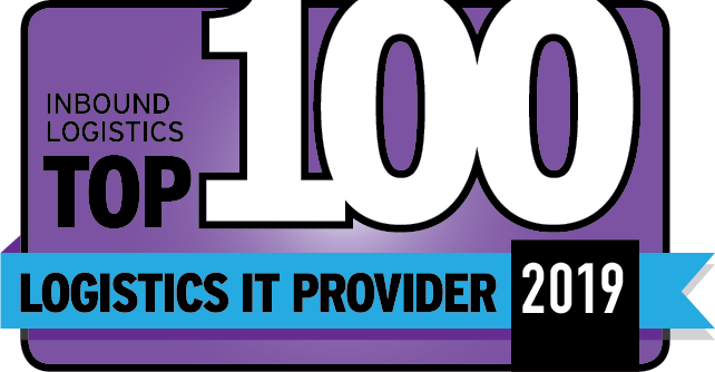 Inbound Logistics Top 100 Logistics IT Provider logo for 2019
